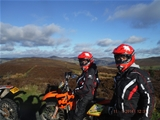 green laning trail riding north wales